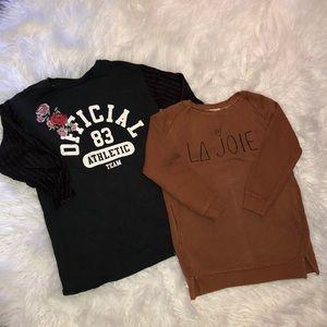 Zara x Girls Tunic Top Bundle